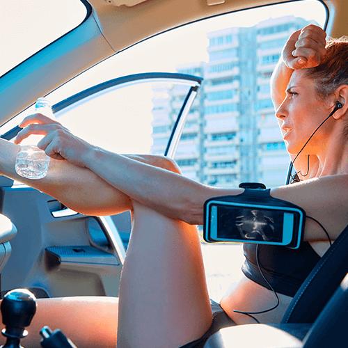 Transforma tu auto en un compañero de ejercicio